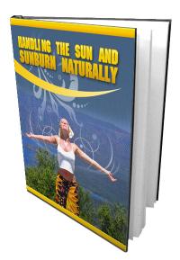 Manage Sunburn Naturally